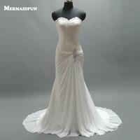 2018 Sweetheart Tulle Mermaid Wedding Dresses with Convertible Strap Sequined Bridal Dresses Weddingdress Vestidos Noivas