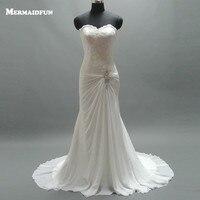 2019 Sweetheart Tulle Mermaid Wedding Dresses with Convertible Strap Sequined Bridal Dresses Weddingdress Vestidos Noivas