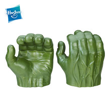 Hasbro Marvel Avengers Gamma Grip Hulk Fists Action Figure Collectible Model Boys Toys Christmas Gift(China)