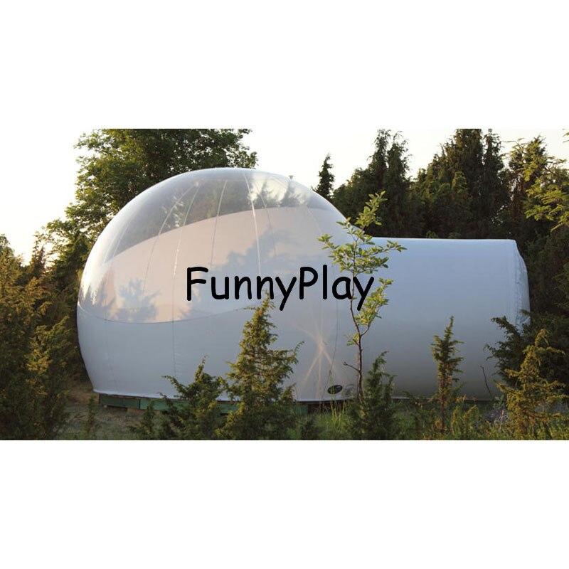 Надувные шоу дом Famaily Дворе палатка, надувной пузырь шатра дерева, надувные hotel палатка