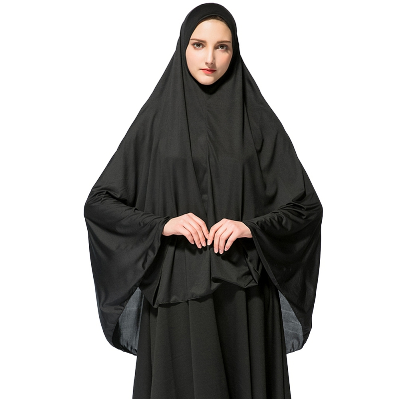 Muslim Black Face Cover Veil  Women Hijab Burqa Niqab Arab Islamic Headscarf Wrap Abaya Turban Headgear Hooded Outwear