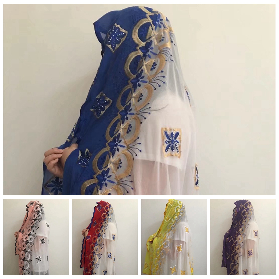 Latest African Shayla, High Quality Scarf Dubai Muslim Woman Islamic Arabric Jersey Hijab For Women MOXF-7