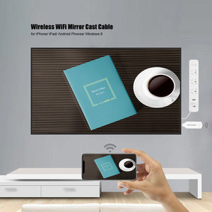 Image 2 - אלחוטי WiFi מראה יצוק כבל עבור MHL כדי HDMI ממיר 1080P HDTV מתאם HDMI כבל עבור iPhone עבור Samsung אנדרואיד Windows
