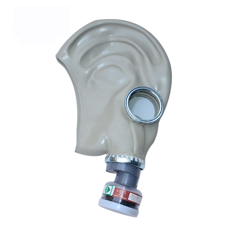 ФОТО Industrial-safety Full Face Military Gas Mask With No.3 Organic Gases And Vapors Cans Chemical Breathing-Mask Paint Dust