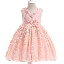 MQATZ Summer Costumes Kids Dresses For Girls Tutu Princess Dress Girl Birthday Party And Wedding Dress Elegant 4 9 10 Year L5037 цена 2017