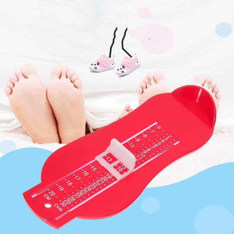 2017 ใหม่ Footful Foot วัดอุปกรณ์รองเท้า Gauge ไม้บรรทัดสำหรับเด็กวัดเท้า at Home