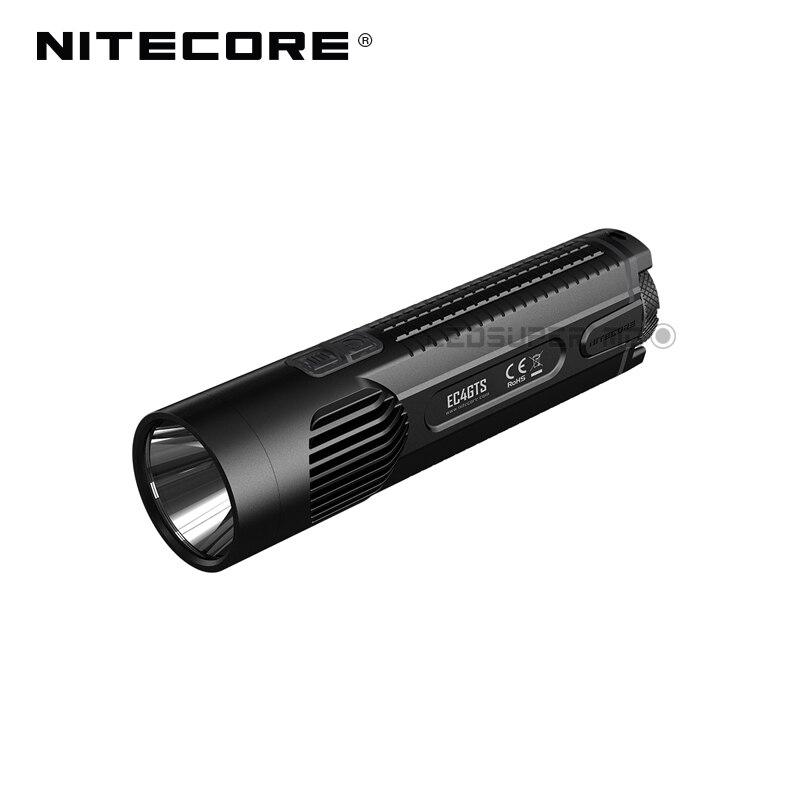 Новое поступление Nitecore EC4GTS CREE XHP35 HD светодиодный 1800 люмен высокопроизводительный пылающий прожектор фонарик