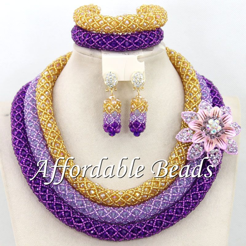 Charming Nigerian Lady Jewelry Set Fashion African Jewelry Set Unique Design Free Shipping BN578Charming Nigerian Lady Jewelry Set Fashion African Jewelry Set Unique Design Free Shipping BN578