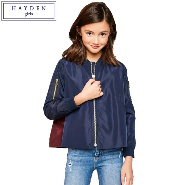 d5a4a219c HAYDEN Girls Bomber Jackets 2018 Spring New Arrival Teenage Girls ...