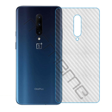 For OnePlus 7 Pro 3D Soft Carbon Fiber Back Screen Protector Sticker Protective Back Film Not Tempered Glass 5pcs/lot