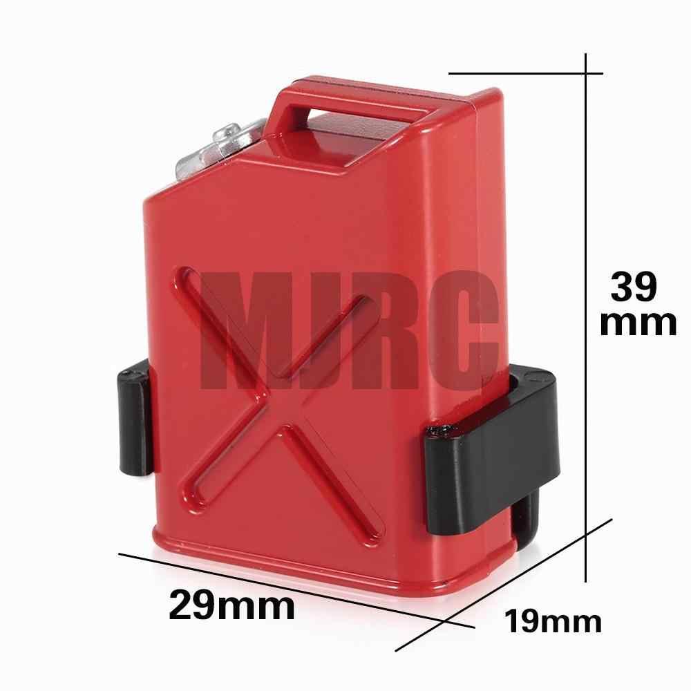 MJRC RC اكسسوارات ديكور سيارة البلاستيك محاكاة خزان الوقود ل 1/10 RC الزاحف محوري TRX-4 SCX10 90046 D90 TAMIYA CC01