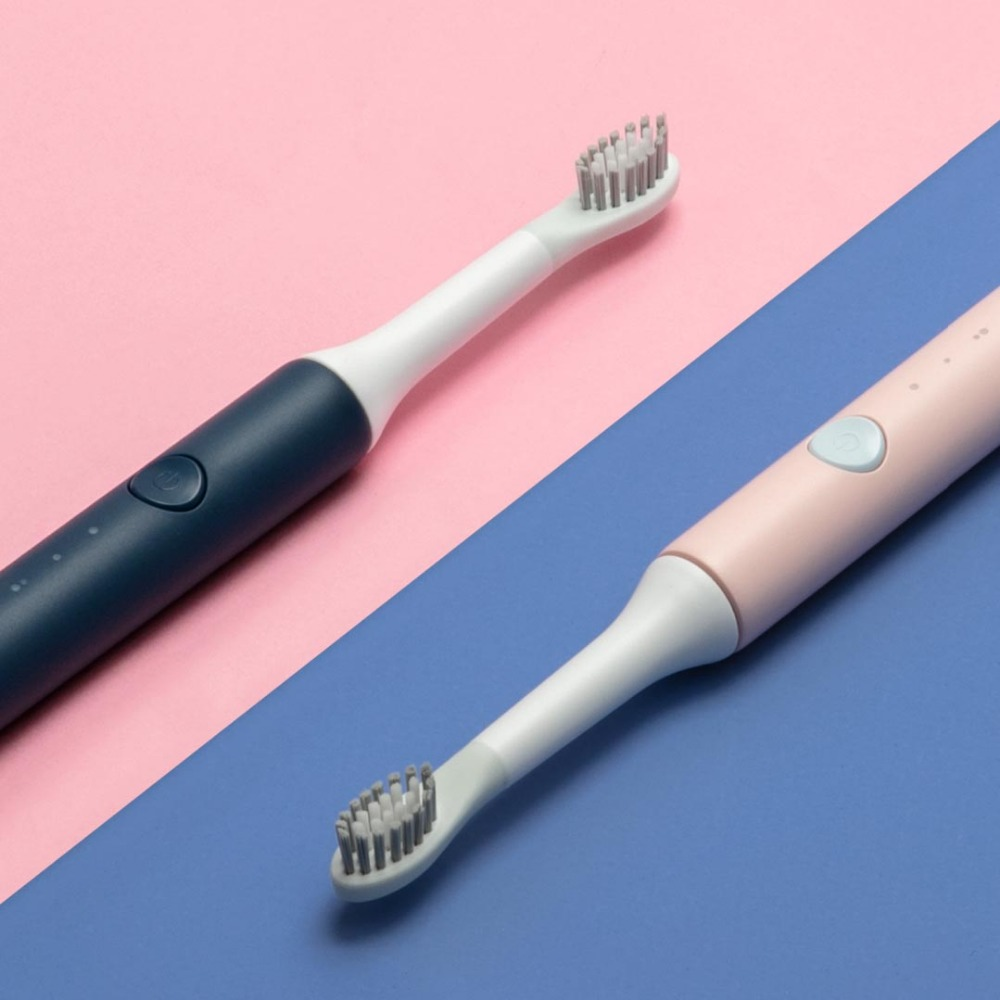 Image 2 - Xiaomi Mijia SO WHITE Sonic Electric Toothbrush Automatic Sonic Toothbrush Deep Cleaning for Adults/Children Care Teeth-in Smart Remote Control from Consumer Electronics