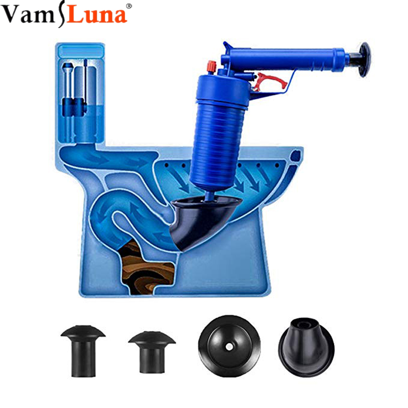 Air Power Drain Blaster Gun High Pressure Powerful Manual