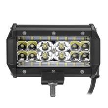84 W 4 ряда светодиодный свет бар 6000 K для вождения worklights пятно луча для бездорожья грузовика автомобилей ATV внедорожник УАЗ 4×4 4WD рампы IP67 12 V 24 V авто лампы