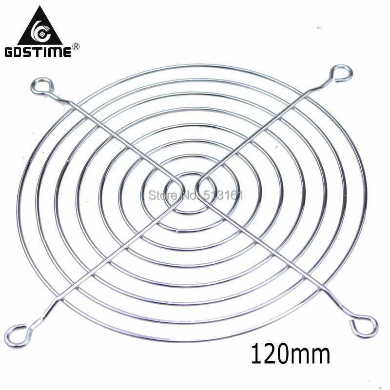 1 Piece Gdstime Metal Wire Finger Grill For 120mm 12cm Cpu Dc Fan Pc