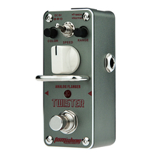 AROMA Tom'sline ATR-3 Twister Analog Flanger MINI Guitar Effect Pedal Analogue Effect Ture Bypass