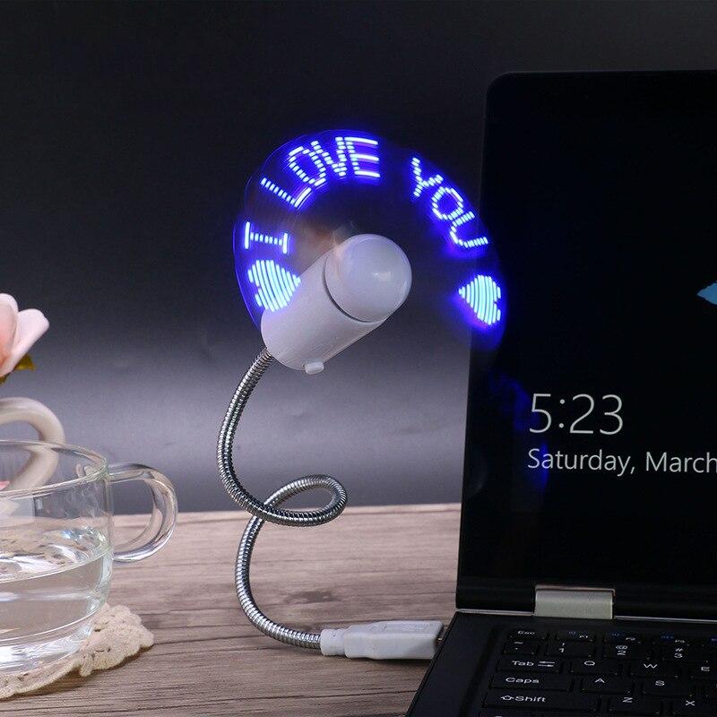 Kleine Klimaanlage Geräte Tragbare Flexible Usb Usb-ventilator-laptop-kühlvorrichtung-kühlventilator Mini Nette Bunte Kühler Für Laptop-desktop-computer