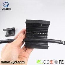Conjunto de fibra óptica, tubo solto jaqueta bainha de cabo de fibra óptica ferramenta longitudinal descascador de tubo