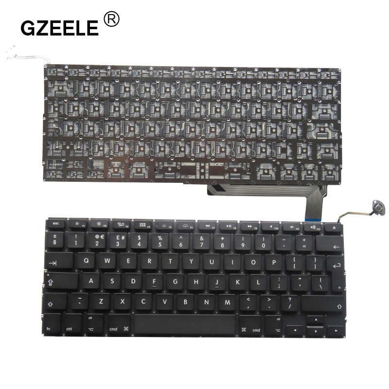 """Yeni İNGILTERE Laptop klavye Macbook Pro 15 IÇIN """"A1286 MB985 MB986 MC371 MC372 MC373 MC721 MC723 MD103 MD104 İNGILTERE düzeni 2009-2012 YıL"""