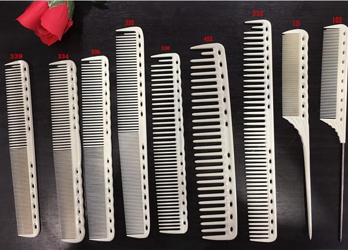 Купить с кэшбэком 2pcs Ys park  barber comb YS PARK comb cutting combs