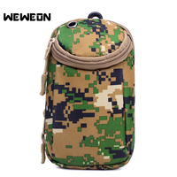 Tactical Running Pouch Belt Camouflage Waist Bag Military Running Belt Pack Phone Cases Waterproof Polyester Wallet
