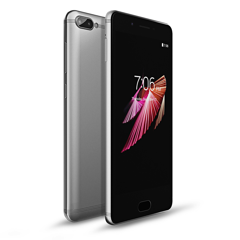 KENXINDA X6 4G Smartphone 5,0 pulgadas Android 7,0 MTK6737 Quad Core 1,3 GHz 3 GB RAM 32 GB ROM huella dactilar 8.0MP + 13.0MP cámaras traseras