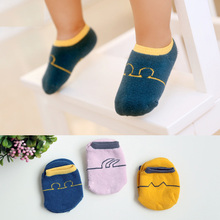 6 пар/лот; детские носки для новорожденных; унисекс; зимние Нескользящие теплые носки; HJS7128