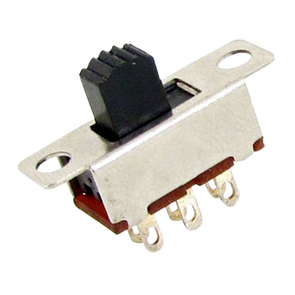 Mount The Spdt Switch With Supplied Nut Secure Your Wiring So It Promotion 10 Pcs 2 Position Dpdt 2p2t Panel Vertical Slide 6 Pin 05a 50v Dc In Switches From Lights Lighting On Alibaba Group