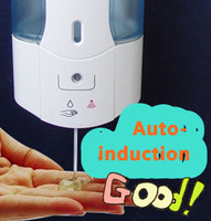 10pcs Lot 500ml Bathroom Kitchen Automatic Sensor Touchless Liquid Soap Dispenser Hotel Home Auto Induction Soap