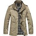 Нуэва llegada de moda delgados hombres де ла капа де ла-вента кальенте chaqueta де comodidad coreana primavera necesario