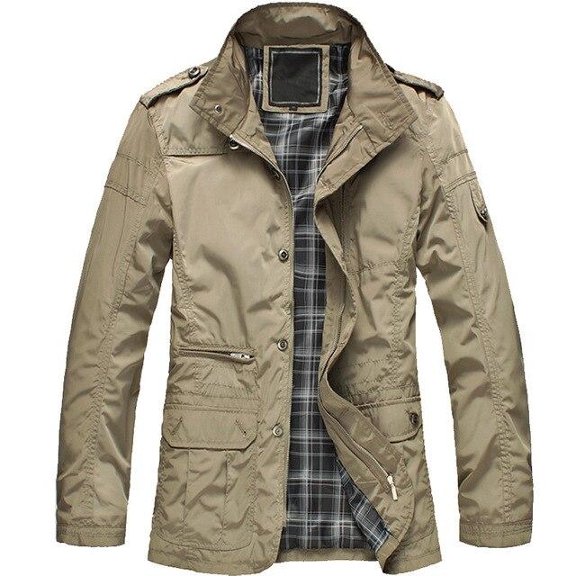 Nueva llegada de moda hombres delgados de la chaqueta capa caliente de la venta de comodidad coreana primavera necesario