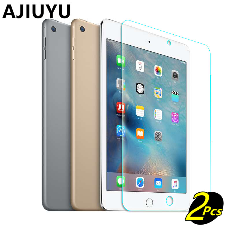 AJIUYU For iPad mini 3 2 1 glass Tempered Glass membrane Steel film For iPad mini3 mini2 Screen Protection Toughened Case glass