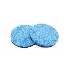 2 Pcs/Lot 3 4 5 6 7 8 Car Microfiber Buff Wax Polishing Disc Buffing Pad For Rotary Dual Action DA Polishers