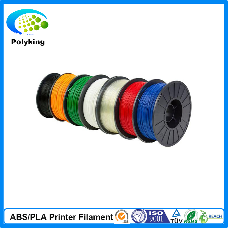 PLA Filament 3.00mm 1kg / 2.2lbs White Color for 3D Printer Plastic Reprap / Wanhao / Makerbot Free Shipping 9 2016 new 3d color printer dual kit for sale 3dprinter electronics with one roll filament masking tape 2gb sd card for free