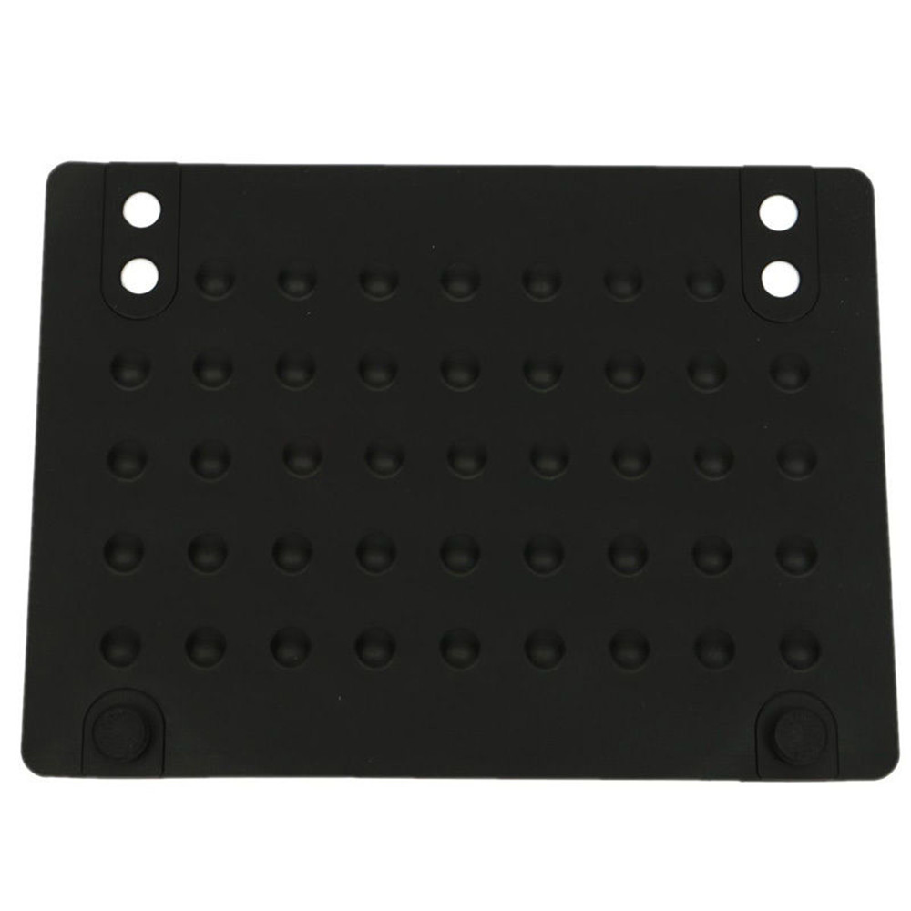 new Silicone Heat Proof Mat Soft Heat-resistant Mat for Curling Iron Hair Dryer Hair Styling Adapter Salon Styling Straightener