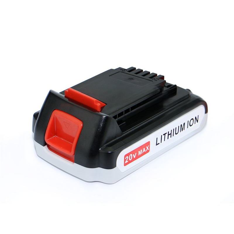 US Shipping!20V 2.5Ah Plastic Case Lithium-Ion Battery for Black & White 20Volt 2500mAh LBXR20 Power tool accessories electric bicycle case 36v lithium ion battery box 36v e bike battery case used for 36v 8a 10a 12a li ion battery pack