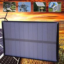 Portable Mini 1.2W DC6V 112x84mm Polysilicon  Solar Panel DIY Power Bank Charging Module Garden Lamp Outdoor Lightweight