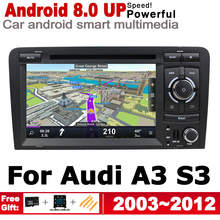 IPS Android 2 DIN Car DVD GPS For Audi A3 S3 8P 2003~2012 MMI Navigation multimedia player Stereo radio WiFi system ips android 2 din car dvd gps for audi a3 s3 8p 2003 2012 mmi navigation multimedia player stereo radio wifi system