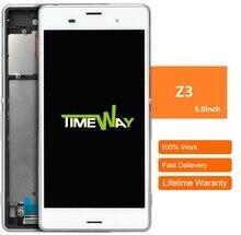 L'écran tactile Digitizer Remplacement Pour Sony Z3 Lcd Avec Cadre alibaba chine highscreen clone