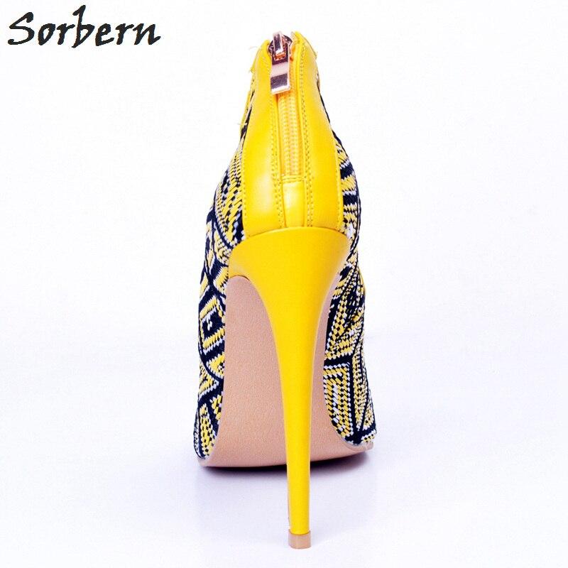 Rouge Sorbern Bout Shipping Talons Haute Ouvert Fête Taille Chaussures Femmes Wrap De Pompes Cheville 4 À Beige jaune 15 rose Designer Drop Dentelle up Noël S7rqSxw