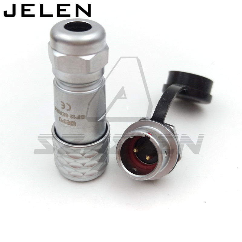 WEIPU SF12 series 2pin waterproof connector plugs and sockets, IP67  Automotive Connectors, Electrical Equipment connectors цена и фото