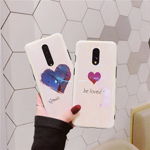 Fashion Blu-Ray Be Loved Phone Case For OnePlus 7 7 Pro Cases For Funda One Plus 7 Pro 1+7 Soft TPU IMD Back Cover Coque