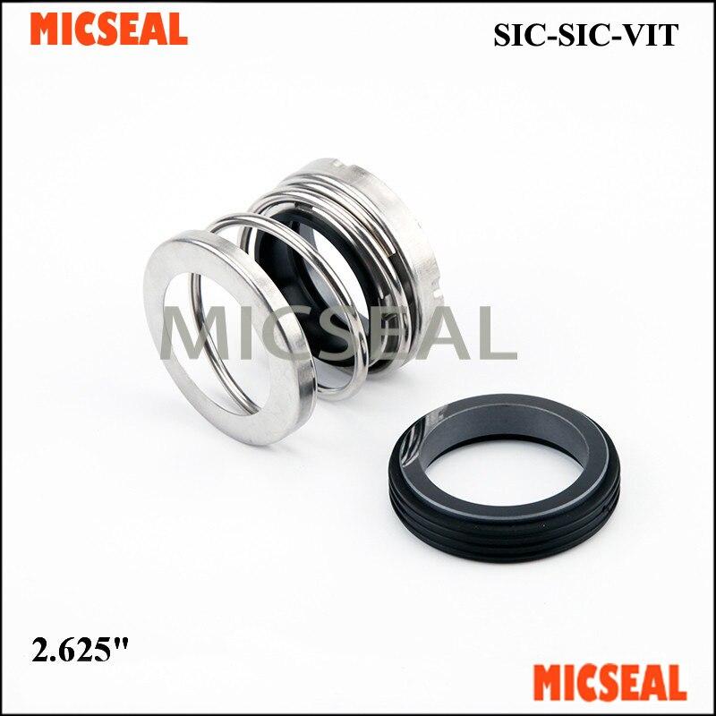 Mechanical Seal Type 21 2 625 SIC SIC VITON to replace John Crane T21