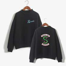 Spring autumn sweatshirts clothes riverdale hoodie women serpent southside sweatshits fashion casual women clothing(China)