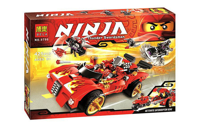 Compatible with Legoings Model 7