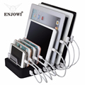 8 Ports Desktop Charging 8*2.4A Multi Quick USB With Stand Power for Family Office