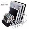 8 Puertos de Escritorio USB Con Soporte de Carga 8 * 2.4A Multi Rápida de Energía para un Family Office