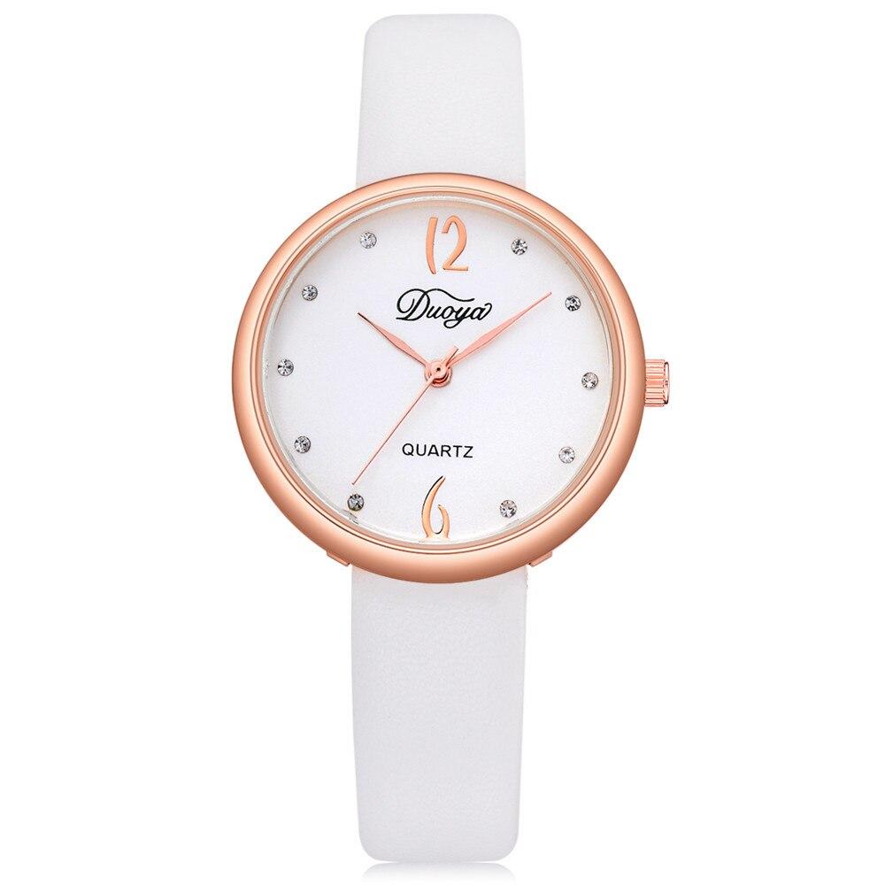 Fashion Women Men Couple Watch  Rounded Analog Pointer Quartz Wrist Watch Clock Female Montre Femme Dress Wristwatch