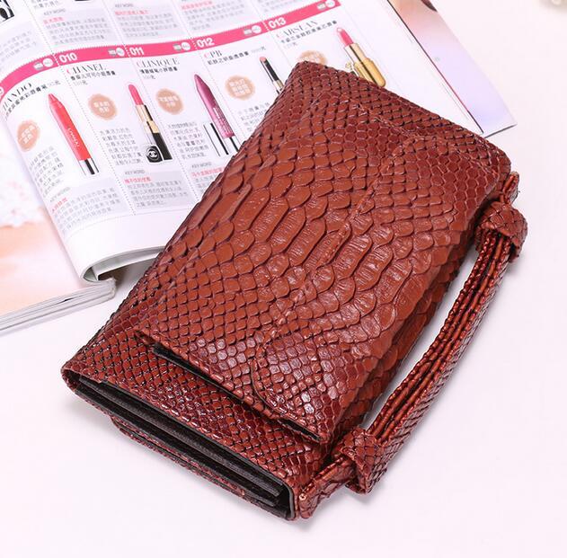 OZUKO новые сумки из натуральной кожи для женщин сумка Роскошные сумки на плечо для женщин дизайнер животных крокодил узор телефон клатч - Цвет: kafeise