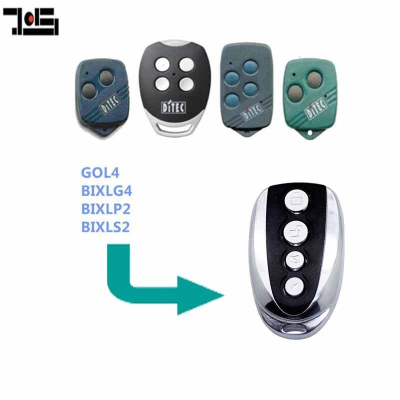 For DITEC GOL4,BIXLP2,BIXLS2,BIXLG4 Rolling Code Remote Control 433.92MHZ